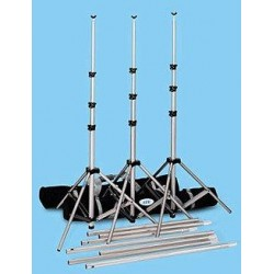 "BIG 20'6"" wide Heavy-Duty Backdrop Stand with case"