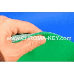25 feet x 25 feet Green Screen Chroma Key Foam Backdrop