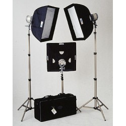 Chroma Key Lighting Kit w/case