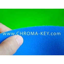 25 feet x 25 feet Blue Screen Chroma Key Foam Backdrop