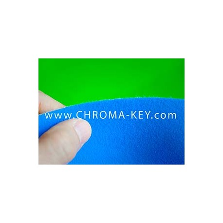 25 feet x 25 feet Blue Screen Chroma Key Foam Backdrop